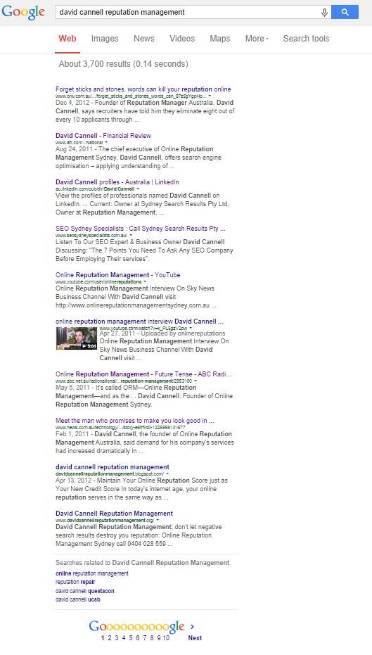 david cannell google results 29 sept 2014 v2